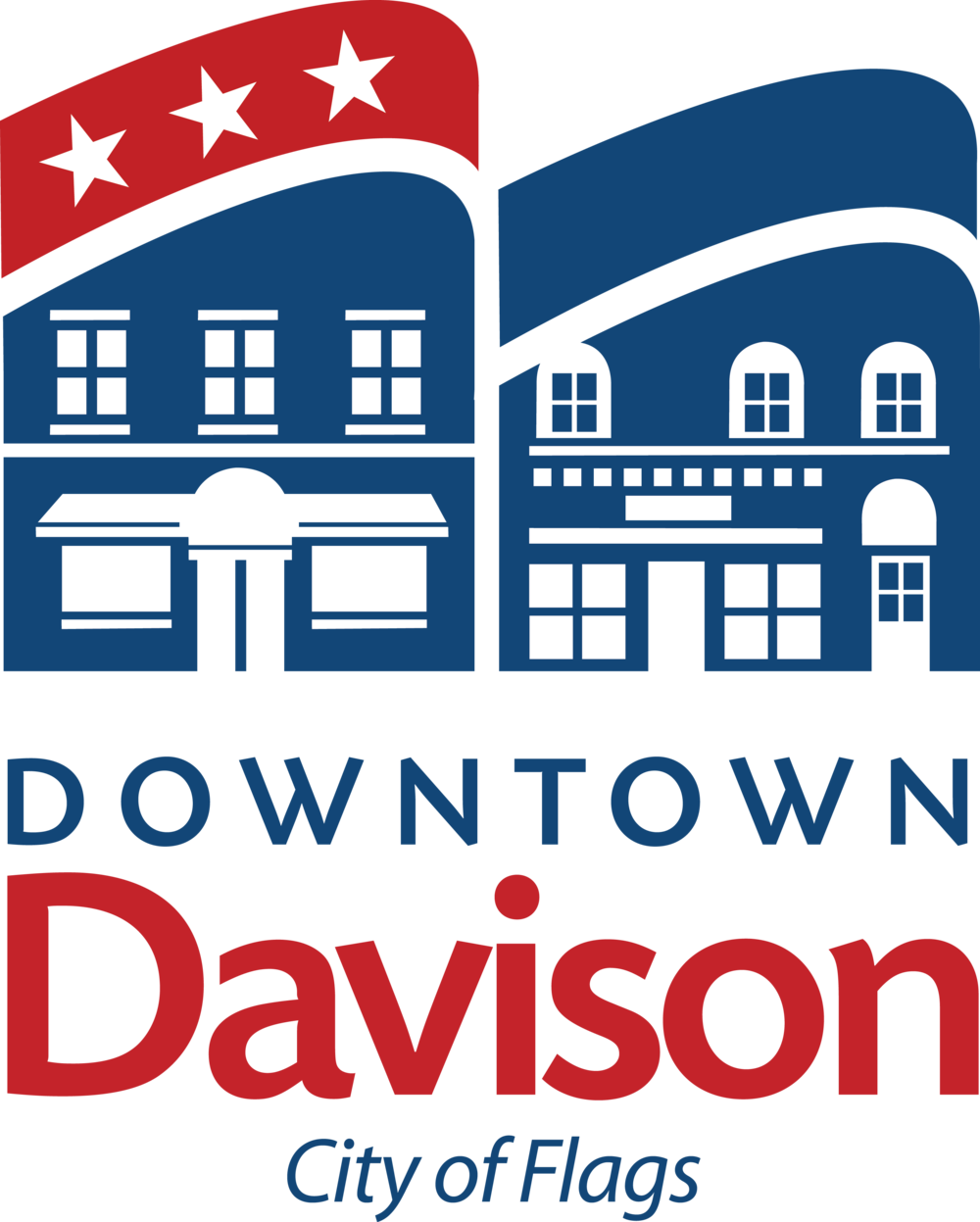 2014 Downtown-Davison-City-Flags-2 New logo.png