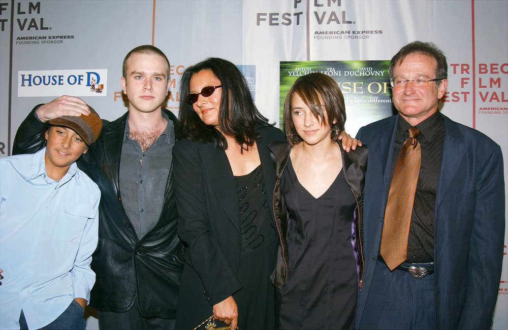 Zach, Cody, Marsha Garces (his ex-wife), Zelda and Williams