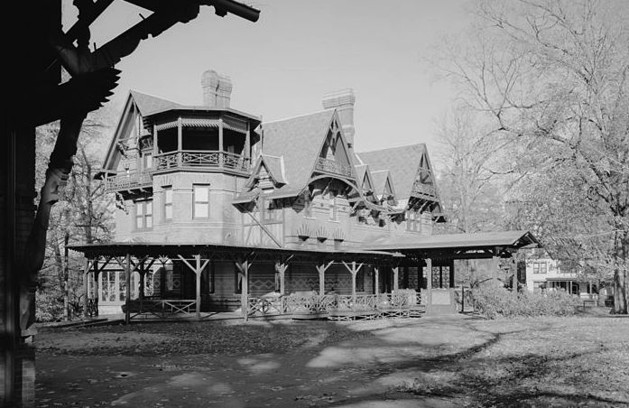Twain's Connecticut home