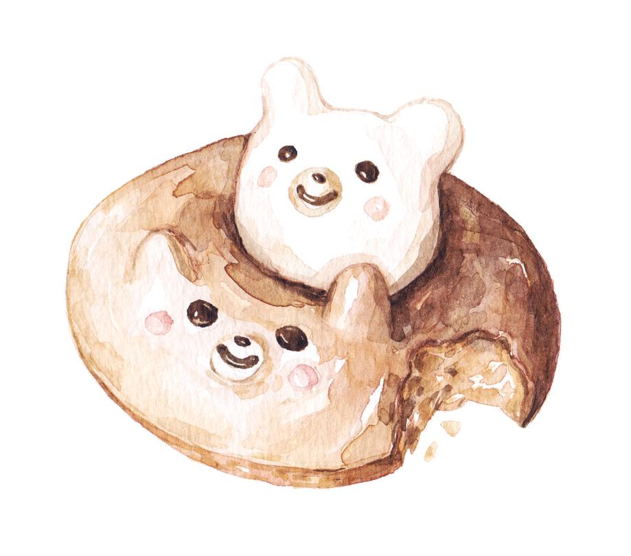 Justine-Wong-Illustration-21-Days-in-Japan-Bear-Donut.jpg