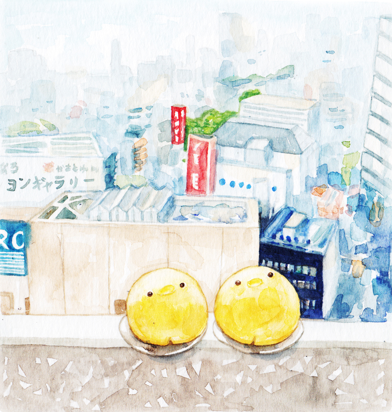 Justine-Wong-Illustration-21-Days-in-Japan-Isetan-Custard-Buns.jpg