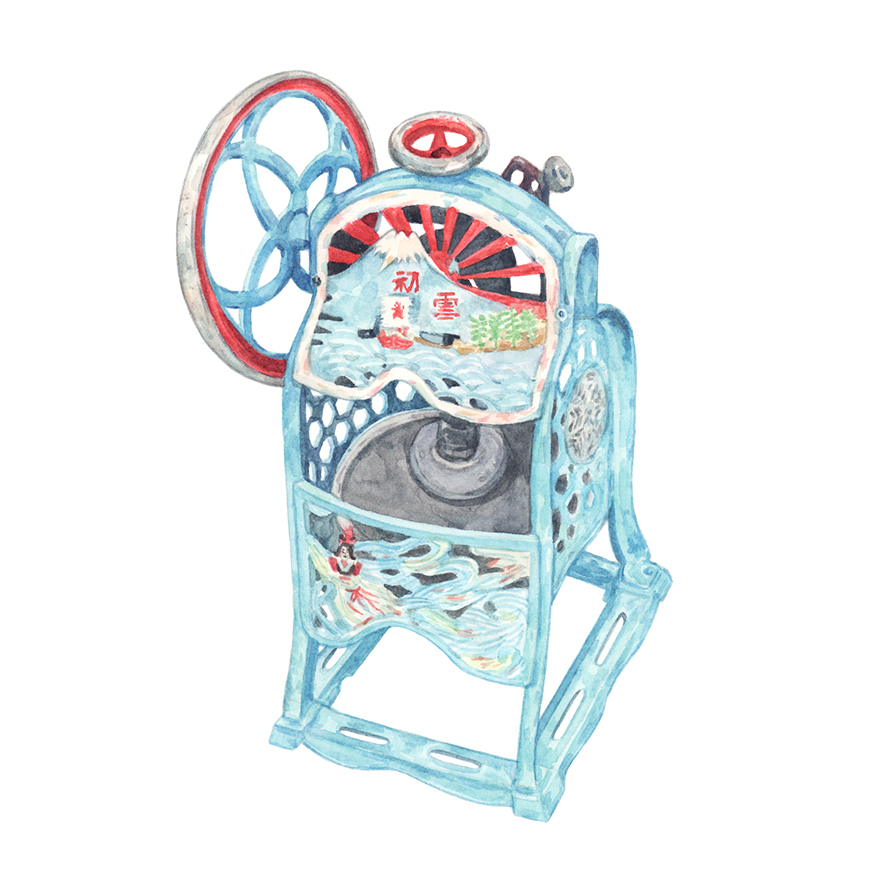 Justine-Wong-Illustration-21-Days-in-Japan-Kakigori-Shaved-Ice-Machine.jpg