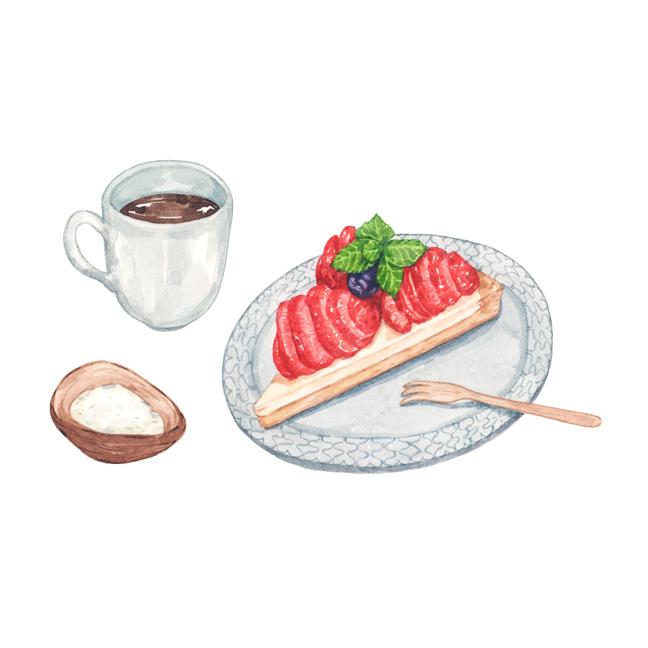 Justine-Wong-Illustration-21-Days-in-Japan-Kyoto-Cafe-Bibliotec Hello!-Tart.jpg