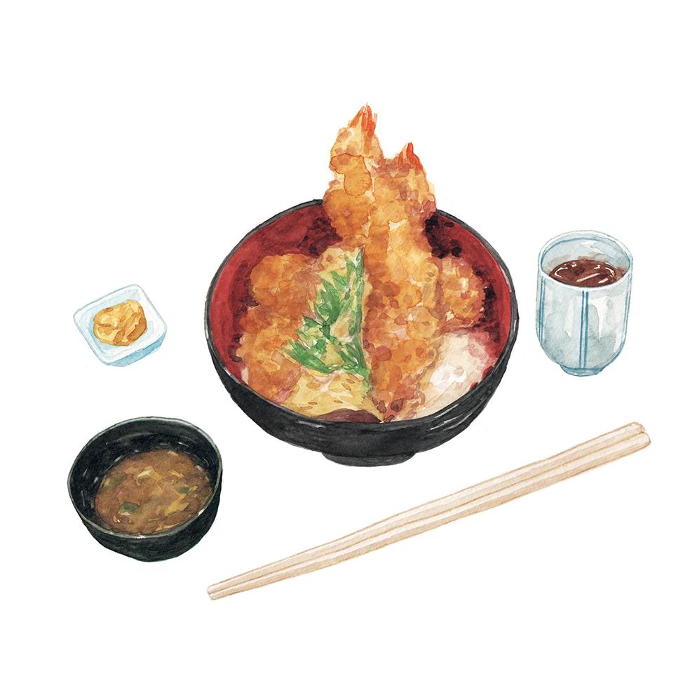 Justine-Wong-Illustration-21-Days-in-Japan-Kyoto-Tempura-Don.jpg