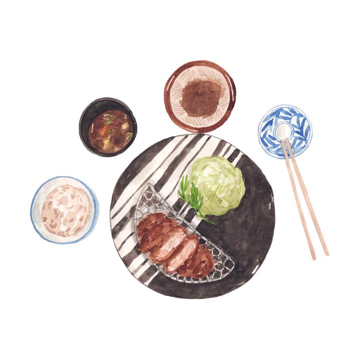 Justine-Wong-Illustration-21-Days-in-Japan-Kyoto-Tonkatsu.jpg
