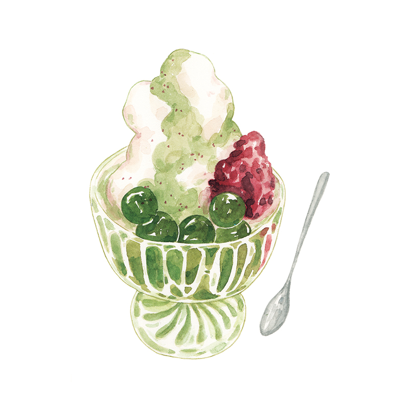 Justine-Wong-Illustration-21-Days-in-Japan-Matcha-Parfait-Nara.jpg
