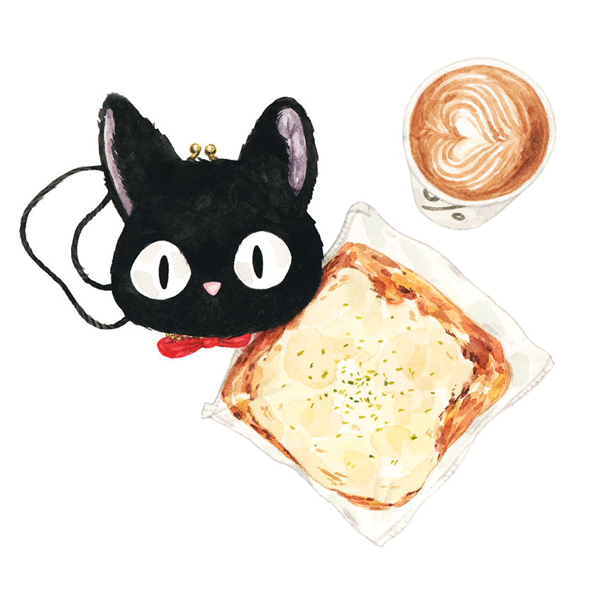 Justine-Wong-Illustration-21-Days-in-Japan-Pizza-Bread.jpg