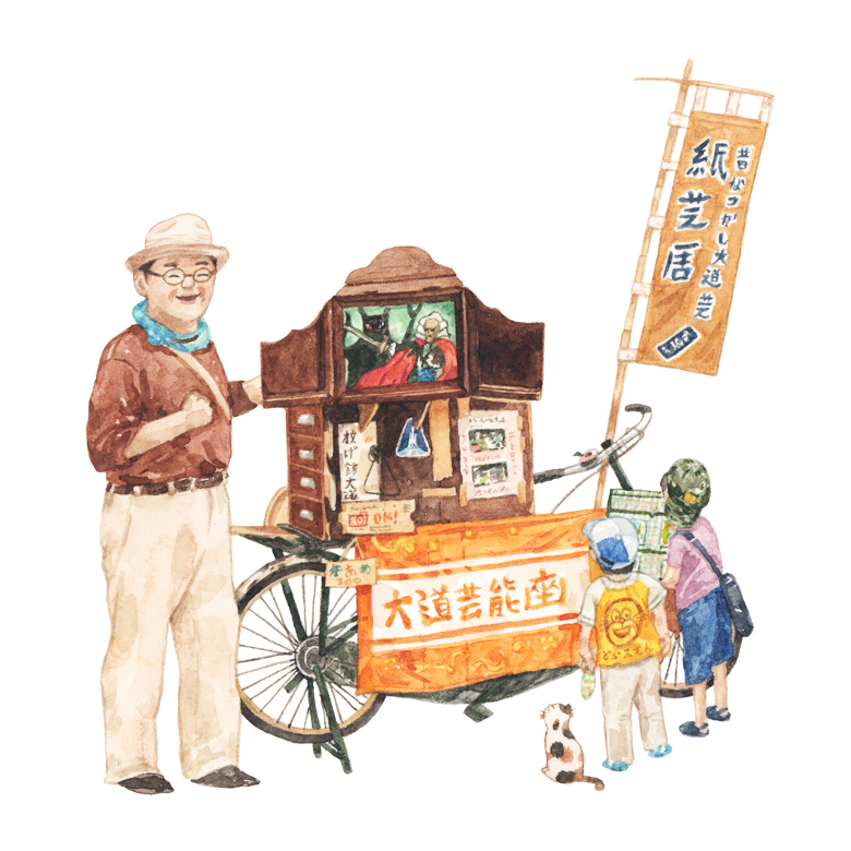 Justine-Wong-Illustration-21-Days-in-Japan-Story-telling-Asakusa.jpg