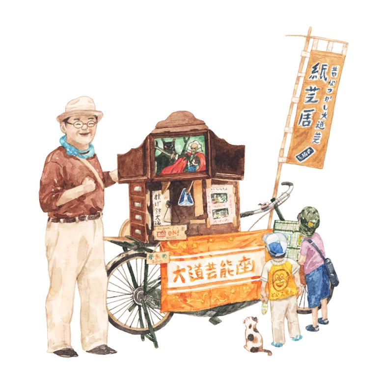 Justine-Wong-Illustration-21-Days-in-Japan-Story-telling-Asakusa.jpg