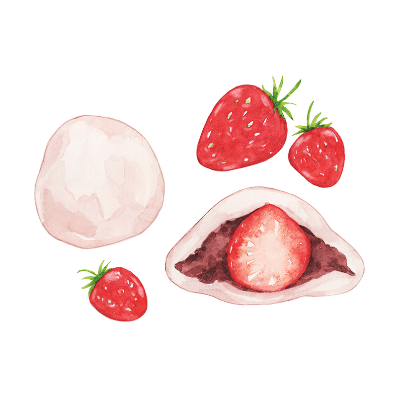 Justine-Wong-Illustration-21-Days-in-Japan-Strawberry-Mochi.jpg