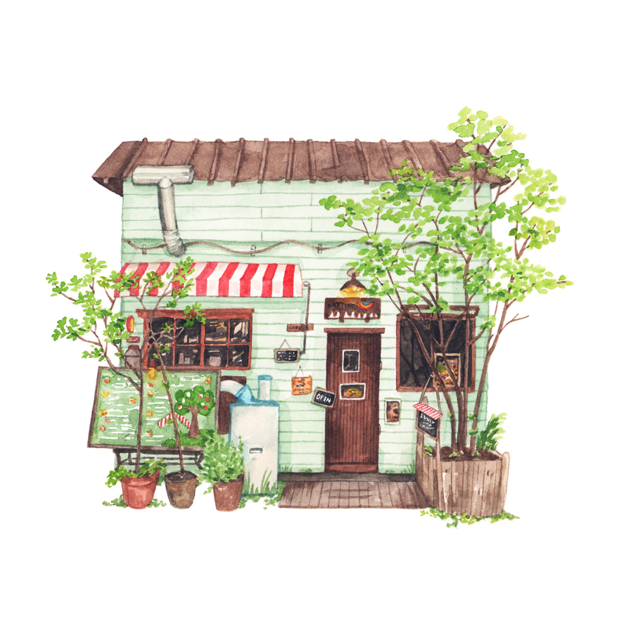 Justine-Wong-Illustration-21-Days-in-Japan-Tokyo-Hattifnat-Cafe.jpg