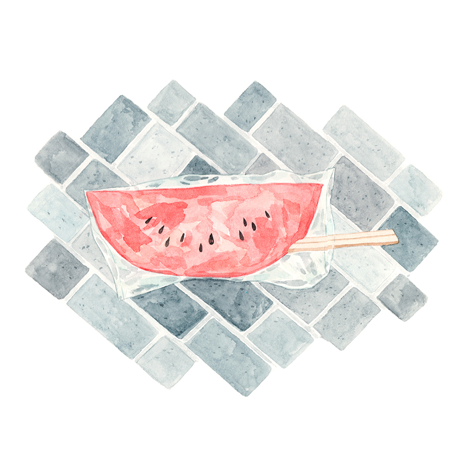 Justine-Wong-Illustration-21-Days-in-Japan-Tokyo-Watermelon-Vendor.jpg