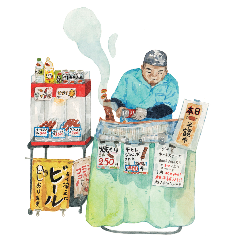 Justine-Wong-Illustration-21-Days-in-Japan-Tsukiji-Meat-Vendor.jpg