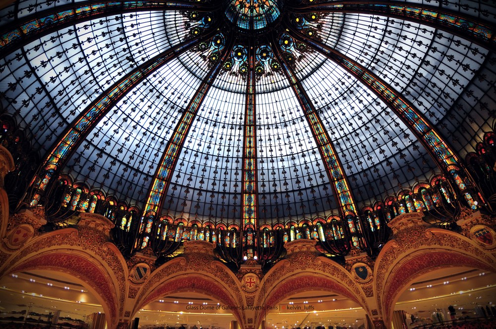 Glass Dome of Galaries Lafayette, Paris.jpg