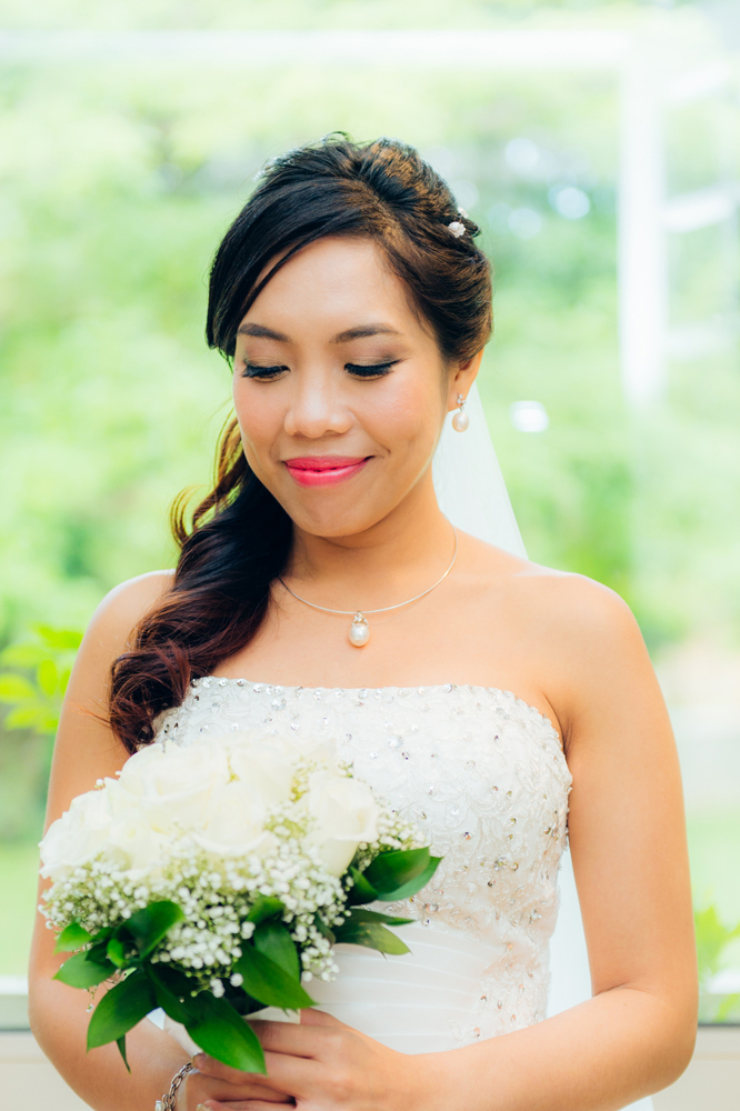 Wedding photography in Singapore being professionally taken by our freelance photographers