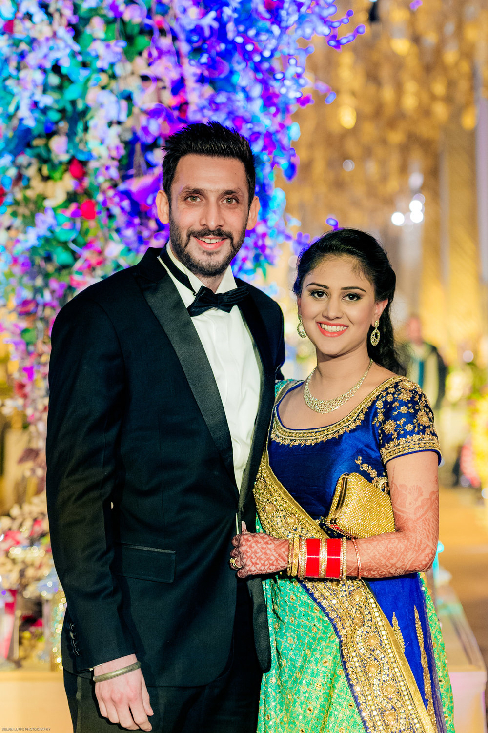 Honestly, I thought they were Bollywood actor and actresses. Such a good looking newly wed couple.