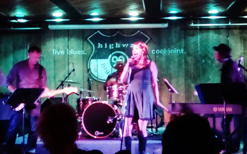 Angie At Highway 99 Blues Club May 31