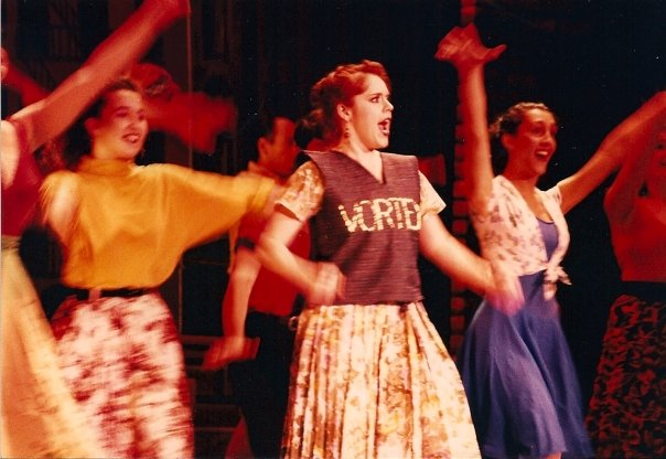 "As Ruth in ""Wonderful Town"", my first show for Steve."