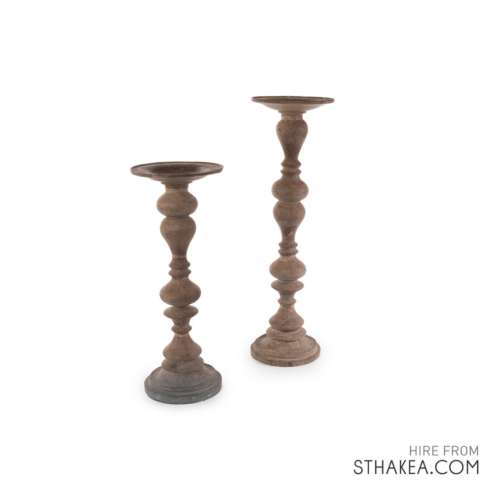 Tall Candlesticks