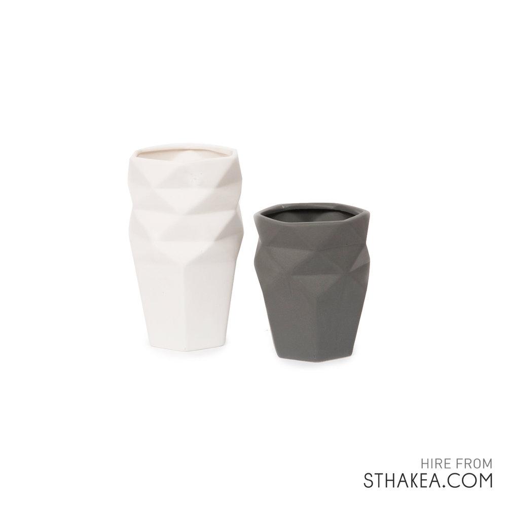 St Hakea Melbourne Hire Origami Vases.jpg