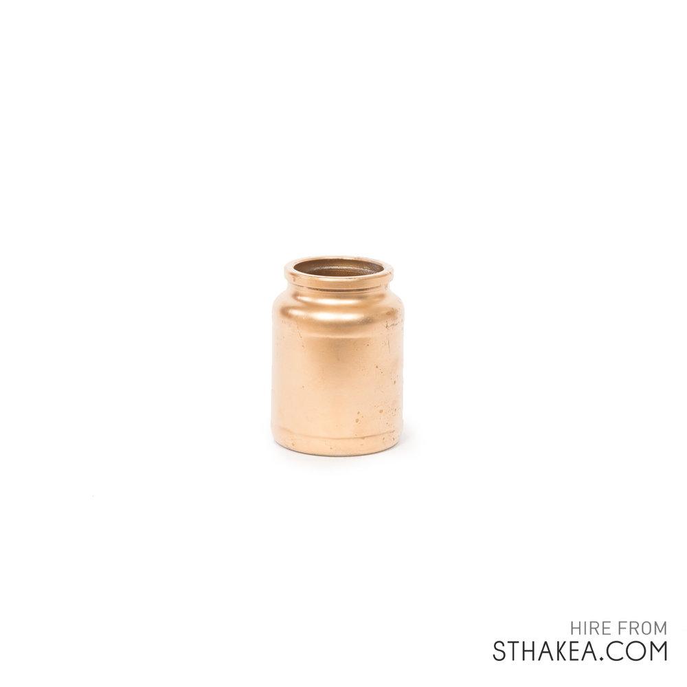 St Hakea Melbourne Hire Wide Copper Jar.jpg
