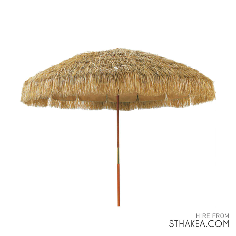 St. Hakea Melbourne Event Hire Thatched Umbrella.jpg