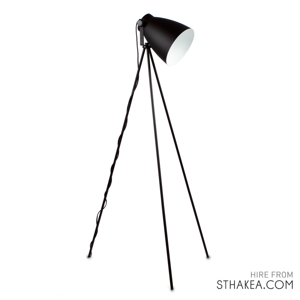 St Hakea Melbourne Event Hire Tripod Floorlamp Black.jpg