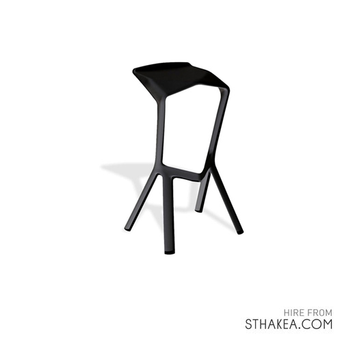 St Hakea Melbourne Event Hire Black Bar Stool.jpeg