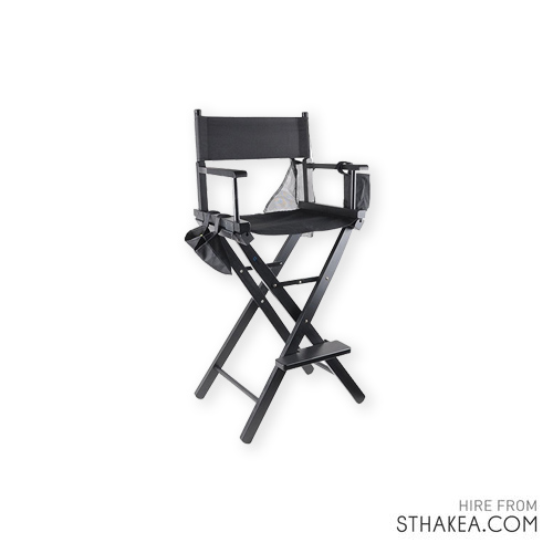 St Hakea Melbourne Event Hire Black Directors Chair.jpg