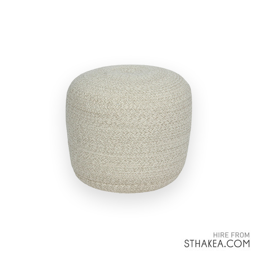 St Hakea Melbourne Event Hire Natural Ottoman.jpg