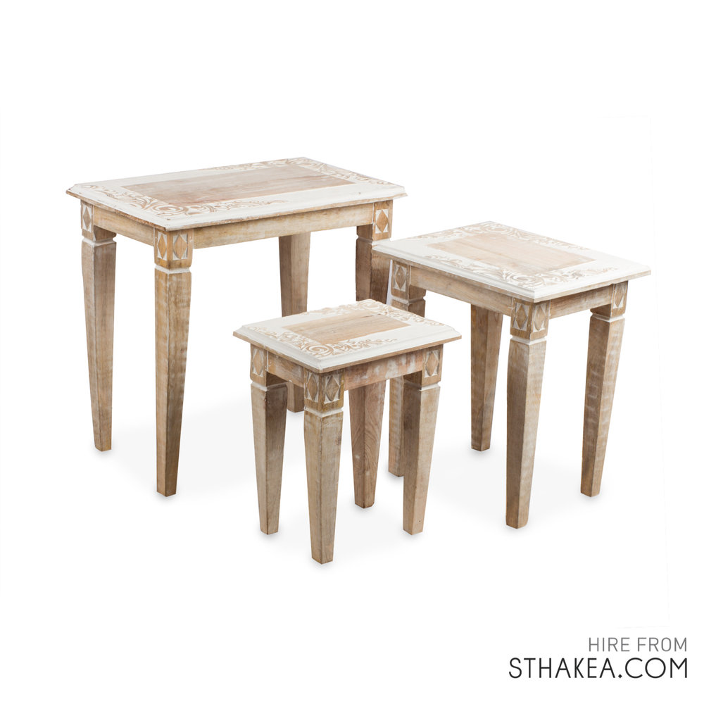 St Hakea Melbourne Event Hire Nest Boho Side Tables.jpg
