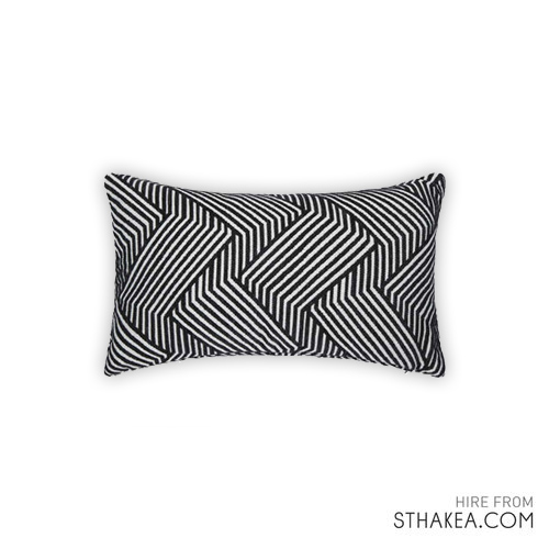 St Hakea Melbourne Event Hire Black White Cushion.jpg