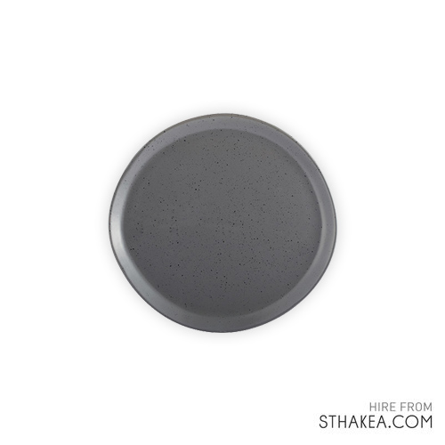 St Hakea Melbourne Event Hire Grey Dinner Plate.jpg