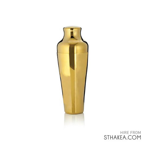 St Hakea Melbourne Event Hire Cocktail Shaker Stainless Steel Gold.jpg