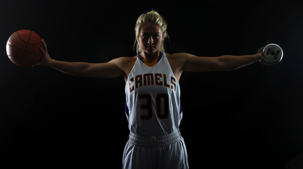 "Jessie Geer is returning for her final season at Campbell County High School before departing in the fall for Utah State University. Geer has been supplementing her basketball workouts with a CrossFit training program, ""Pretty much Crossfit and basketball are my life. That's all I do,"" says Geer."