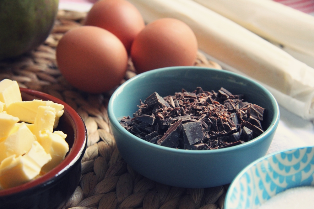 Making-of : La galette des rois poire-chocolat // www.theflyingflour.com