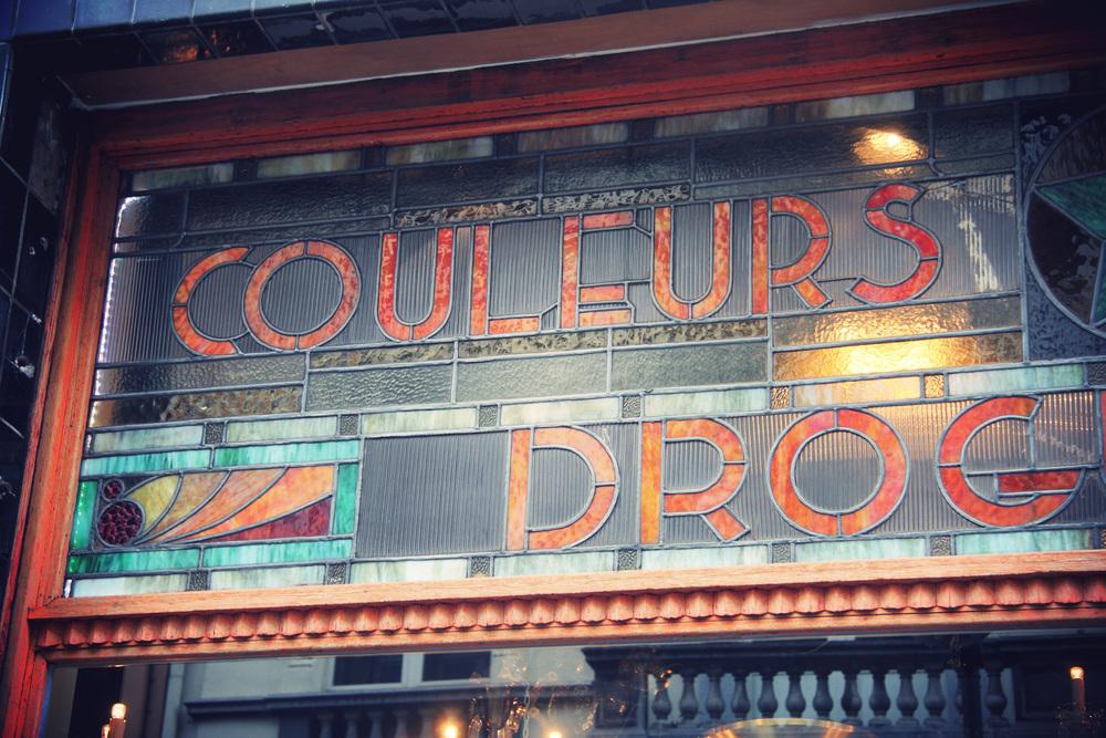 Vintage Typographie, Bruxelles - TravelGuide - www.theflyingflour.com