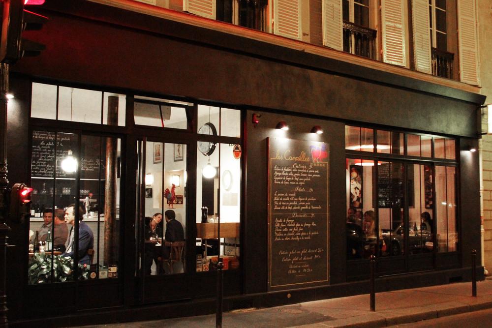 Les Canailles - 25 rue la Bruyère - Paris / www.theflyingflour.com