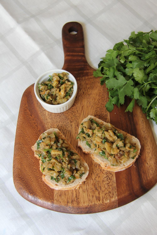 Caviar d'aubergines - The Flying Flour / www.theflyingflour.com
