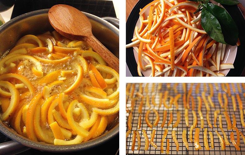 Les orangettes (orange confite enrobée de chocolat) | www.theflyingflour.com