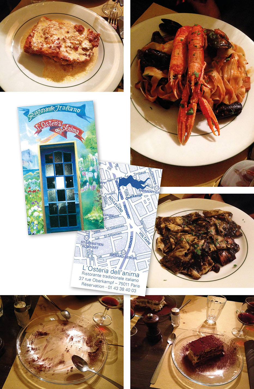 Osteria dell' anima | 75011 | www.theflyingflour.com