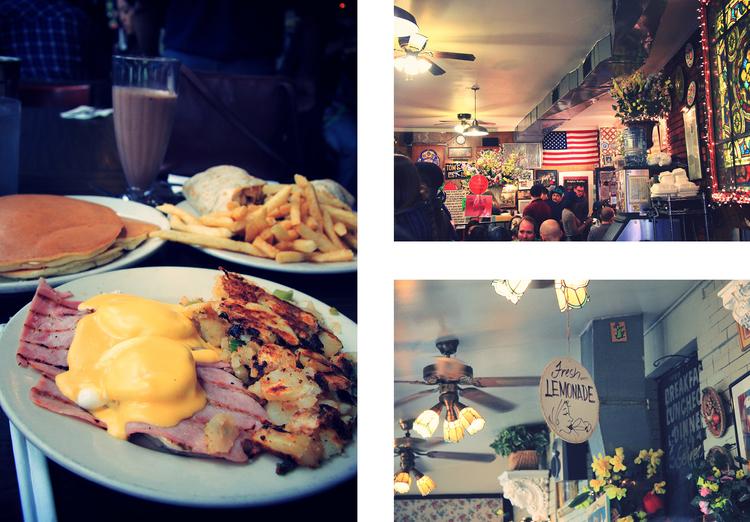 Toms Restaurant - New York | www.theflyingflour.com
