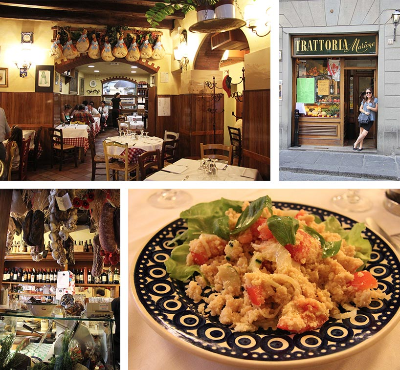 Trattoria Marione, Florence | www.theflyingflour.com