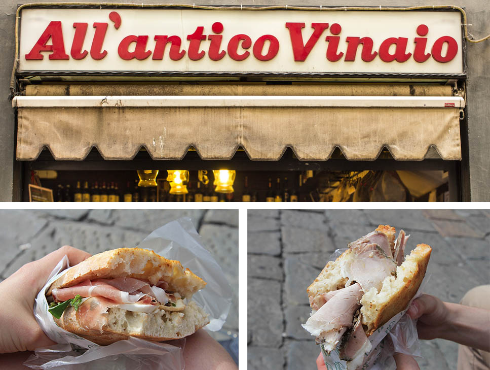 All Antico Vinaio, Florence | www.theflyingflour.com