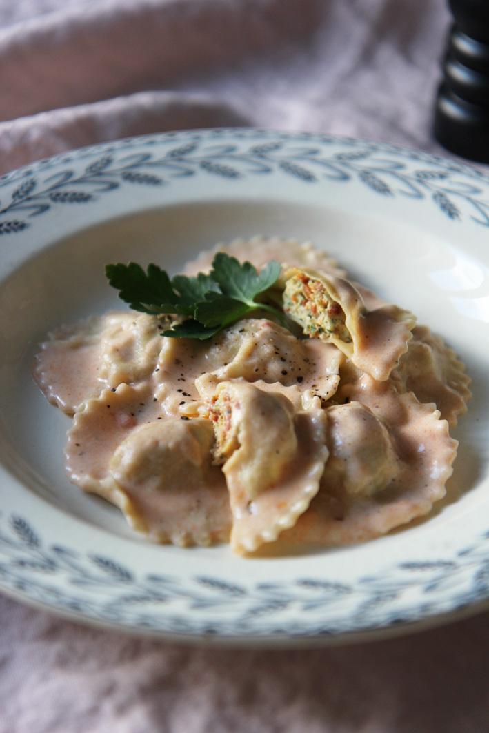 Ravioles poulet & chorizo | www.theflyingflour.com