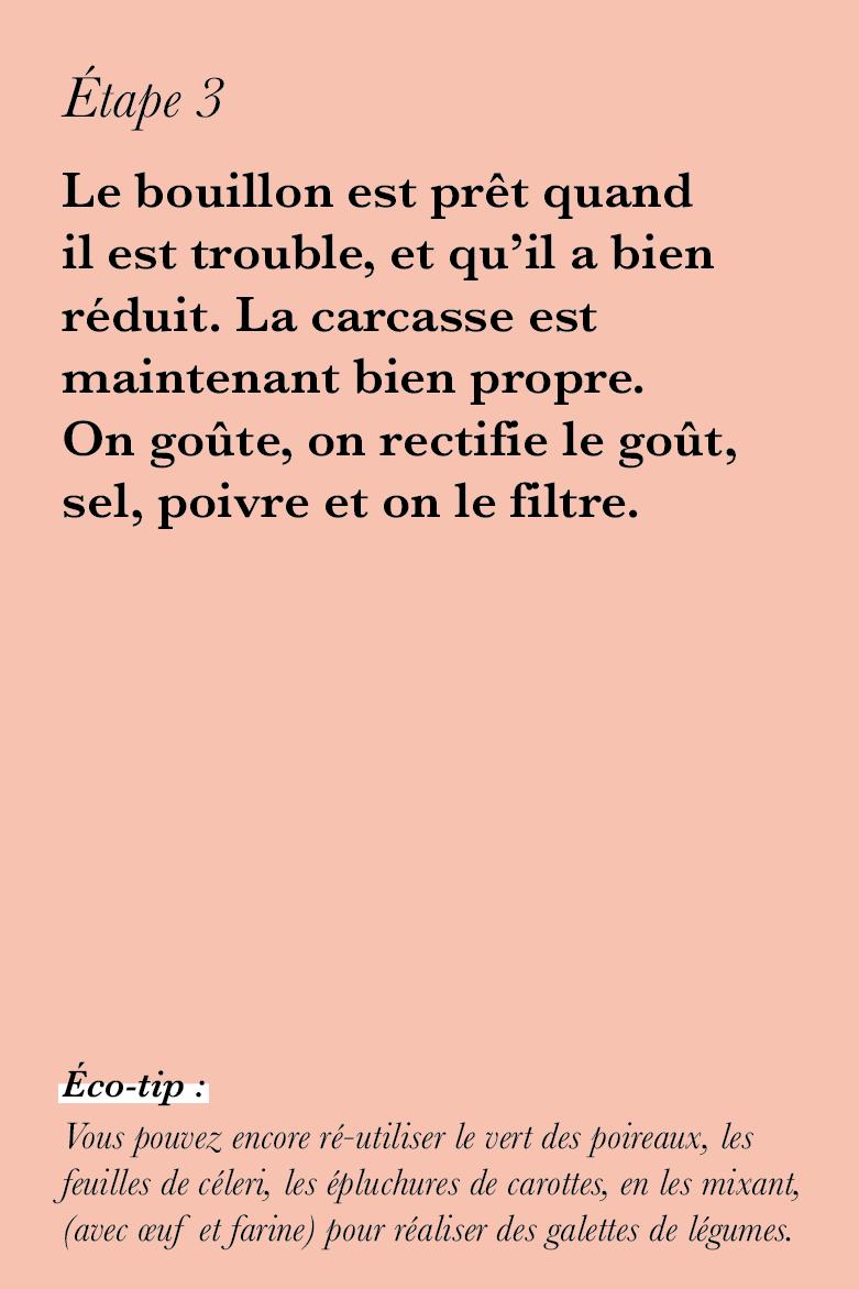 Bouillon maison zero gachis ©theflyingflour