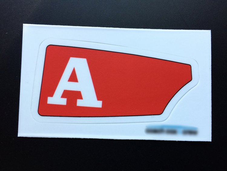 Alabama club sticker