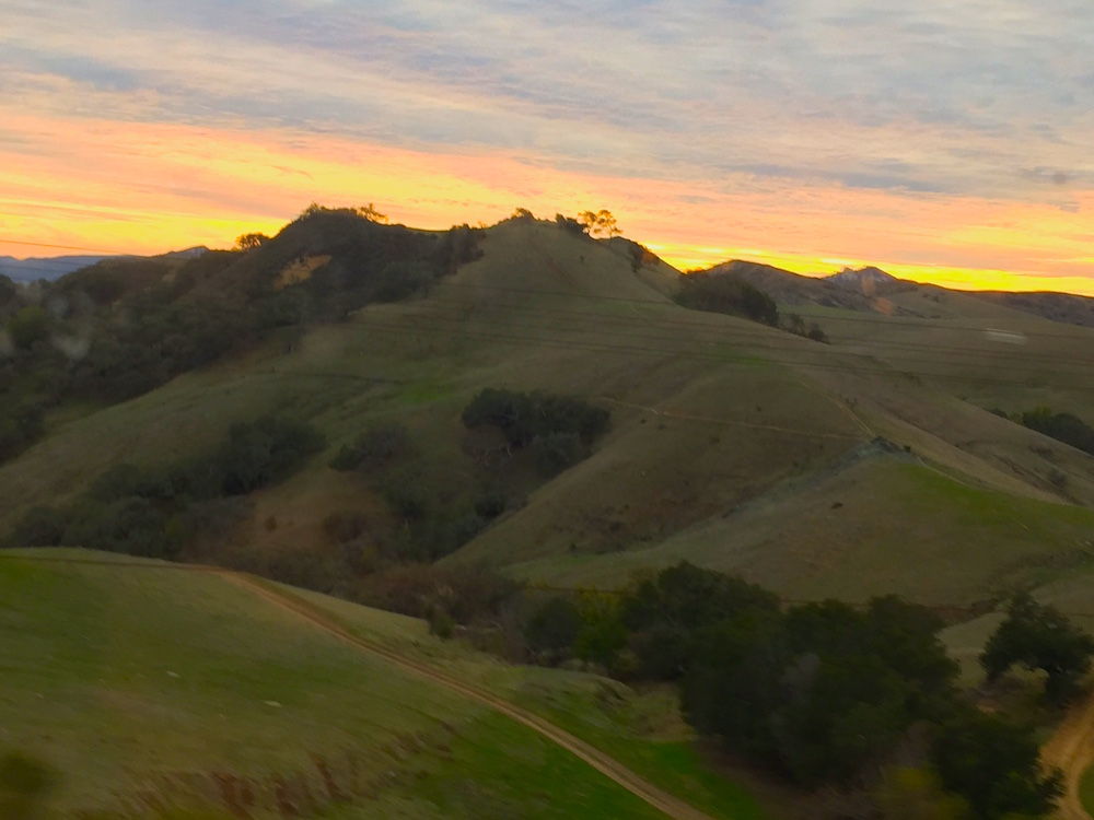 Central California as seen from Coast Starlight | Photo credit: Rose Spaziani