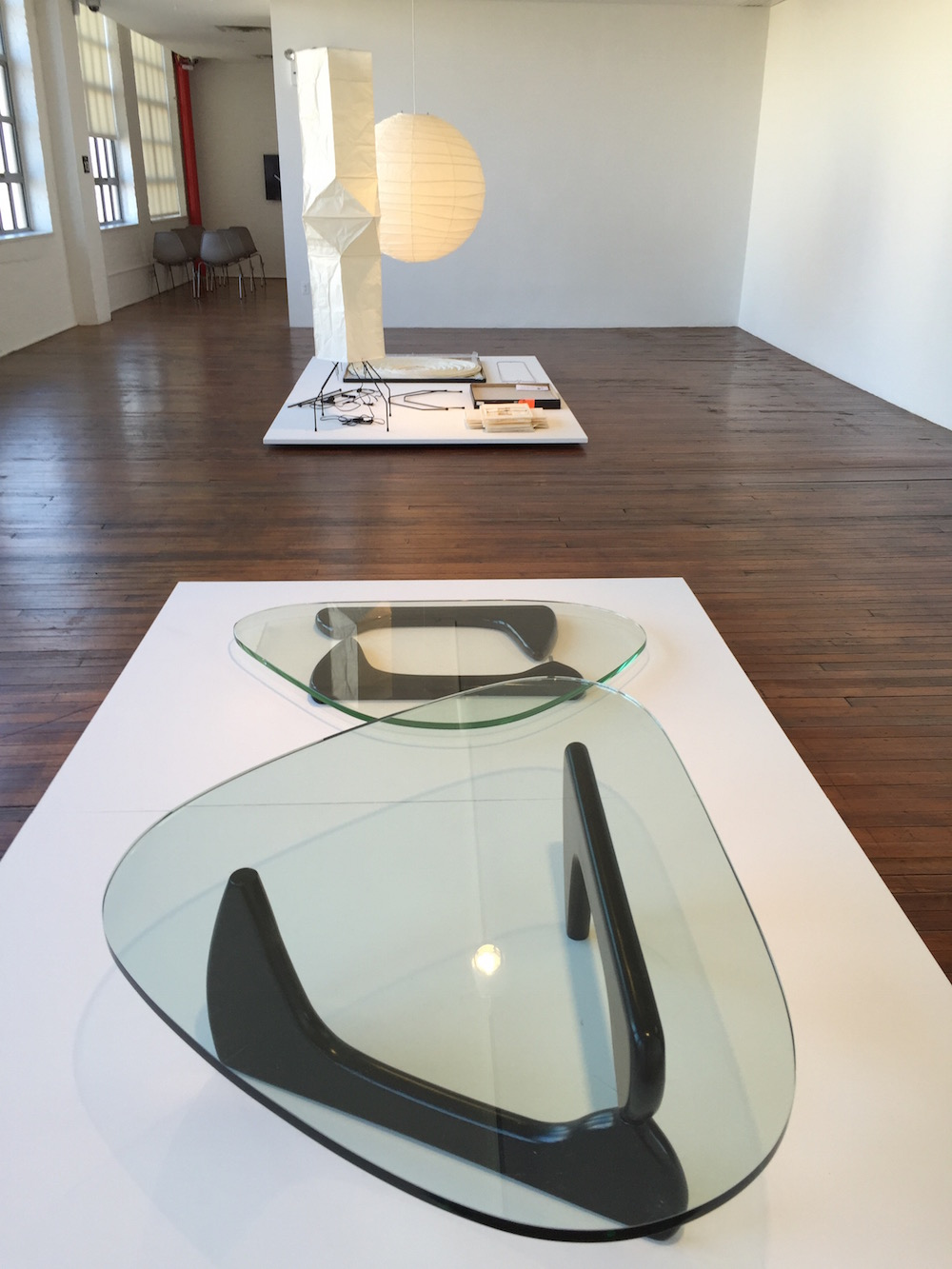 Travel in your backyard noguchi museum in queens ny rose spaziani coffee tables and lighting fixtures at noguchi museum photo credit rose spaziani arubaitofo Choice Image