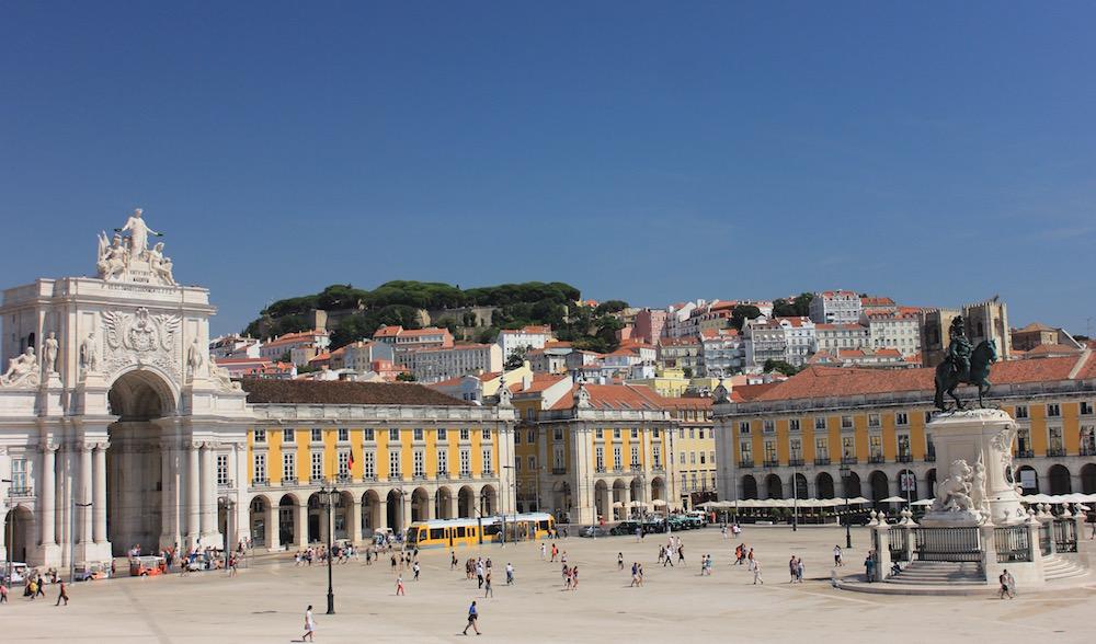 Praca do Comercio, Lisbon, Portugal | Photo credit: Rose Spaziani